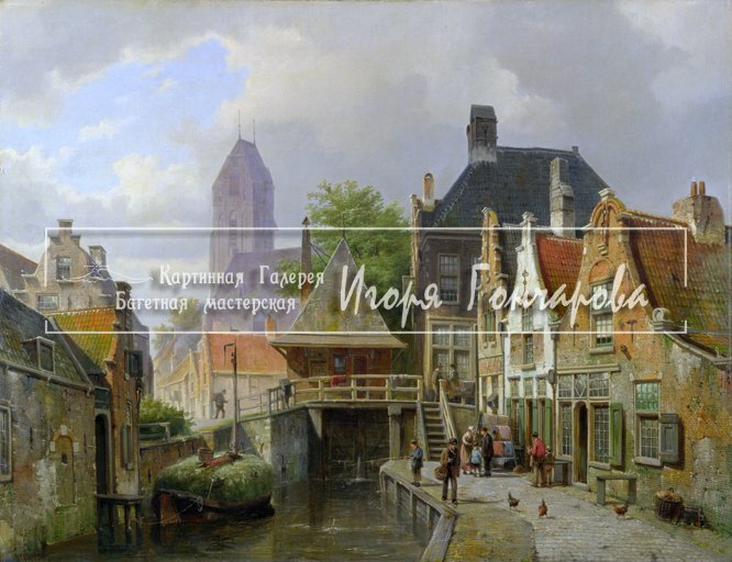 """View of Oudewater"""