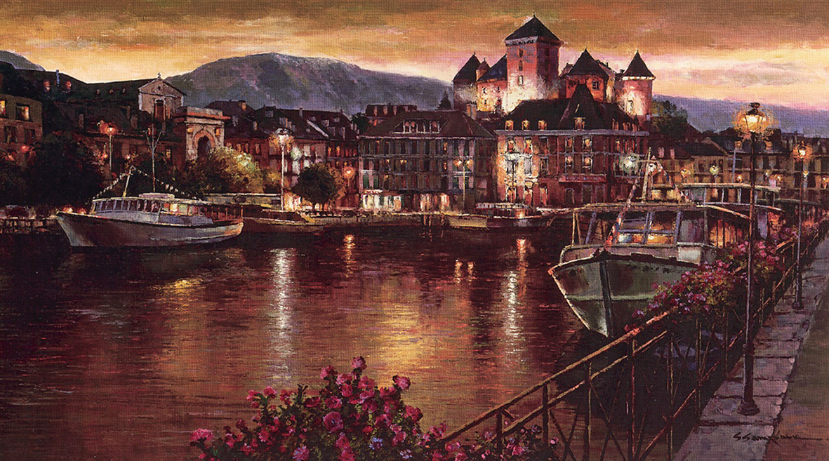"""Annecy Night"""